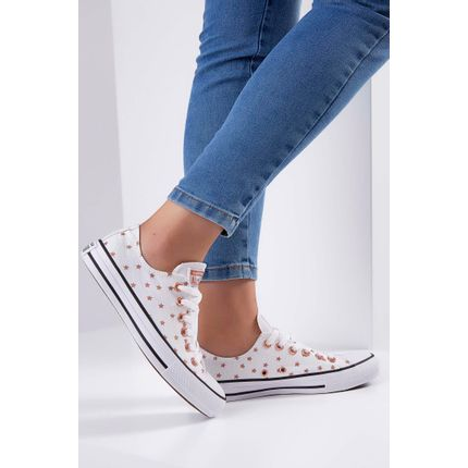 Tenis-Casual-Converse-Chuck-Taylor-All-Star-Branco-
