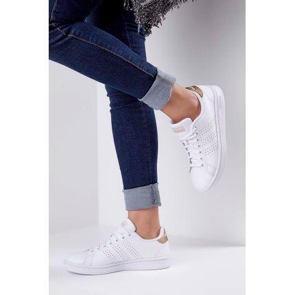 Tenis-Adidas-Advantage-Shoes-Branco-
