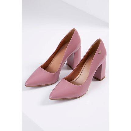 Sapato-Scarpin-Cha-De-Mel-Verniz-Bico-Fino-Rosa-Escuro-