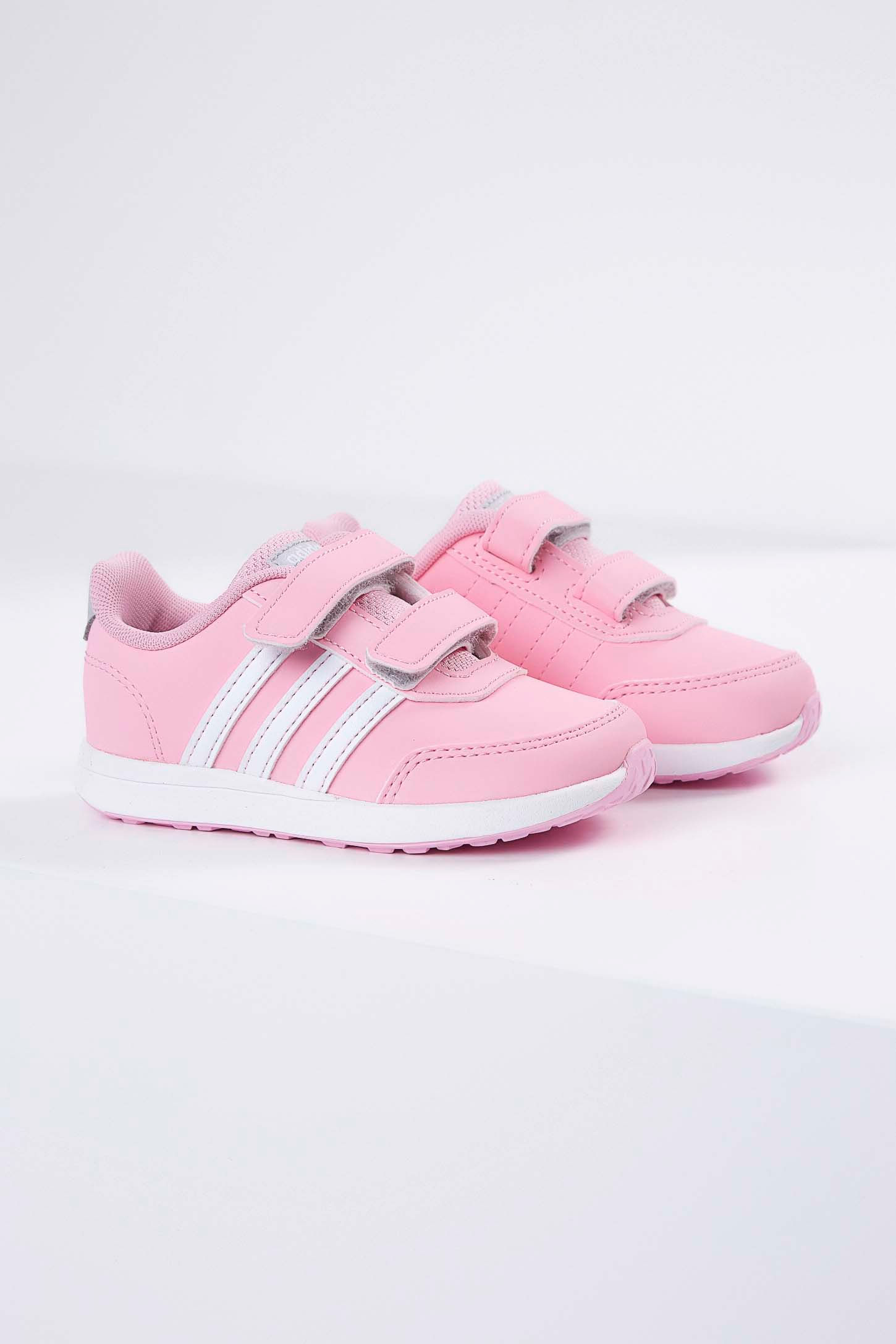 Tenis-Casual-Infantil-Adidas-Switch-2.0-Velcro-Rosa-