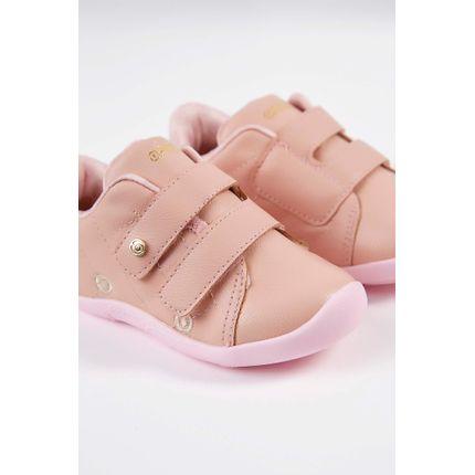 Tenis-Casual-Infantil-Ortope-Velcro-Rosa