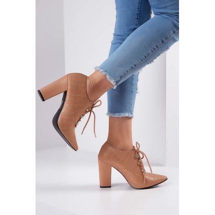 Sapato-Casual-Via-Uno-Textura-Croco-Bege
