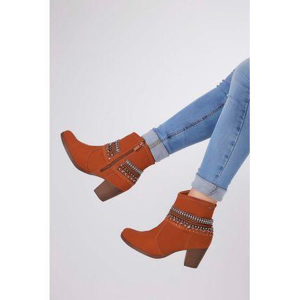 Bota-Ankle-Boot-Dakota-Apliques-Wolford-Castanho-