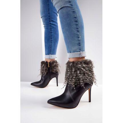 Bota-Ankle-Boot-Verofatto-Pelo-Sintetico-Preto-