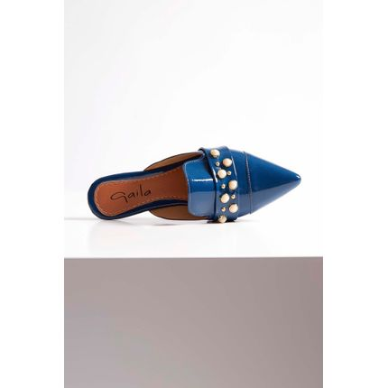 Mule-Chanel-Gaila-Verniz-Perolas-Azul-