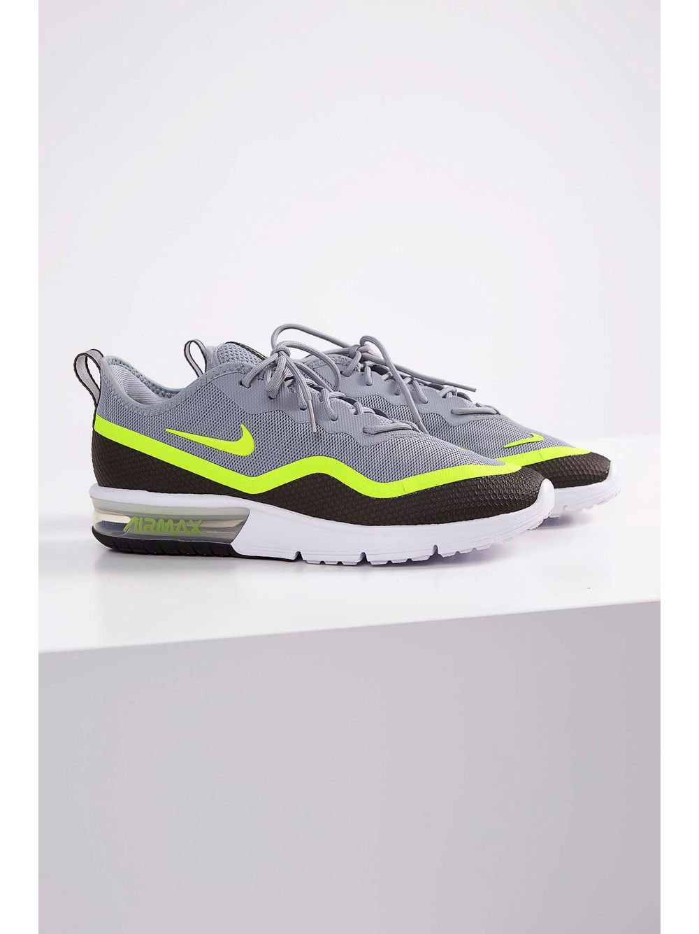 6e50623a04 Tênis Nike Air Max Sequent 4.5 Cinza - pittol