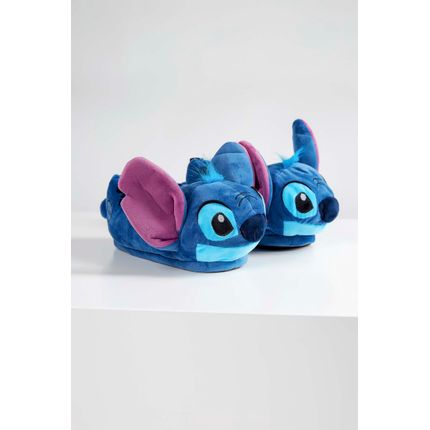 Pantufa-Ricsen-3d-Personagens-Stitch-Azul-