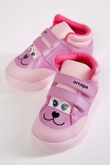 Tenis-Cano-Alto-Infantil-Ortope-Pink-