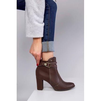 Bota-Ankle-Boot-Mississipi-Fivela-Marrom-