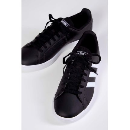 Tenis-Adidas-Grand-Court-Base-Preto