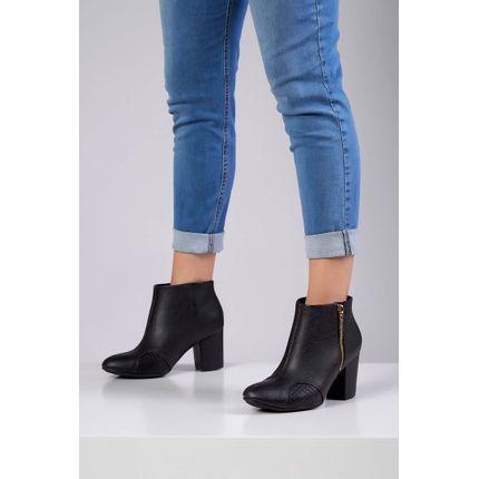 Bota-Ankle-Boot-Modare-Ultraconforto-Preto-