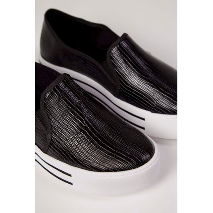 Tenis-Slip-On-Via-Marte-Croco-Preto