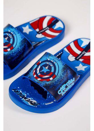 Chinelo-Slide-Ipanema-Avengers-Azul