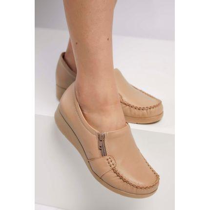 Sapato-Conforto-Comfortflex-Bege-