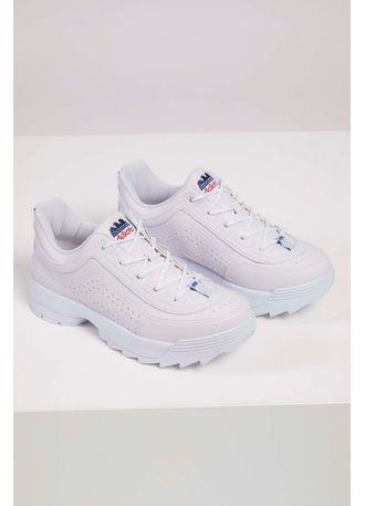 Tenis-Dad-Sneakers-Dakota-G0981-Tratorado-Branco-