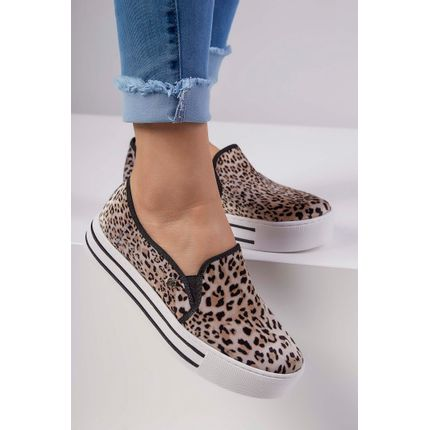 Tenis-Slip-On-Via-Marte-Onca-Animal-Print-Bege