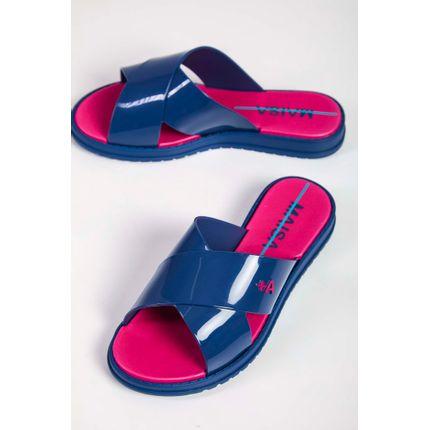 Chinelo-Slide-Infantil-Grendene-Azul-