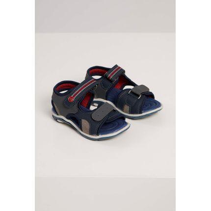 Sandalia-Papete-Infantil-Camin-Velcro-Marinho-