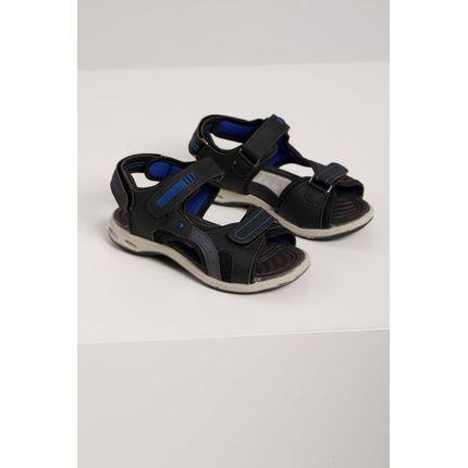 Sandalia-Papete-Infantil-Camin-Velcro-Preto-