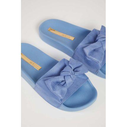 Chinelo-Slide-Moleca-Laco-Camurca-Azul