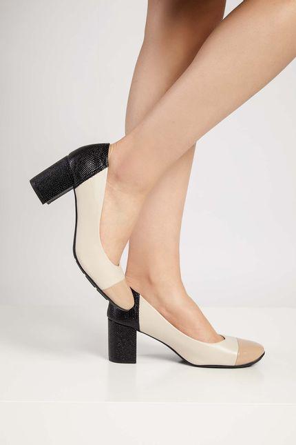 Sapato-Feminino-Conforto-Modare-Bege