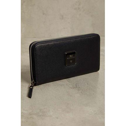 Carteira-Wj-Handbags-Texturizado-Preto