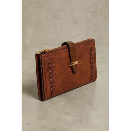 Carteira-Wj-Handbags-Trancado-Caramelo