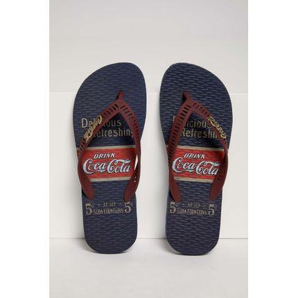 Chinelo-Coca-Cola-Masculino-Marinho