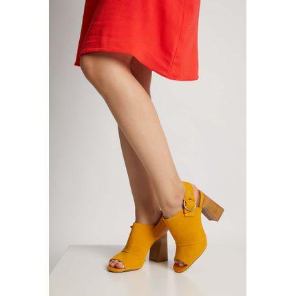 Sandalia-Feminina-Salto-Alto-Bottero-Couro-Amarelo