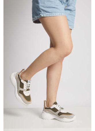 Tenis-Dad-Sneaker-Via-Marte-Recortes-Camurca-Cinza