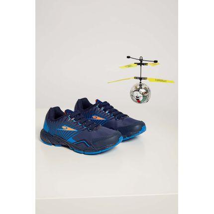 Tenis-Casual-Infantil-Klin-Drone-Marinho