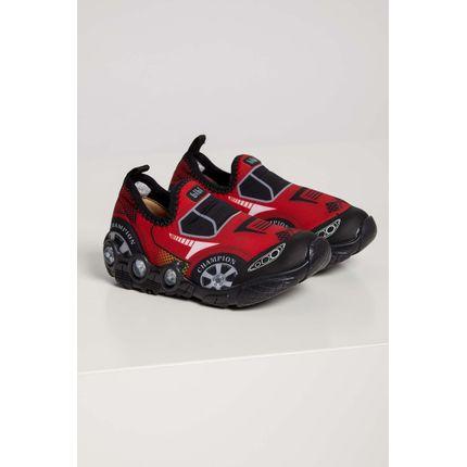 Tenis-Infantil-Menino-Bibi-Space-Wave-Carros-Led-Vermelho