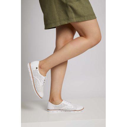 Tenis-Casual-Feminino-Moleca-Laser-Cut-Branco