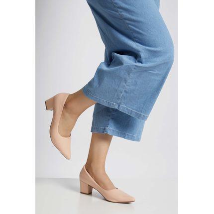 Sapato-Salto-Bloco-Feminino-Gaila-Rosa