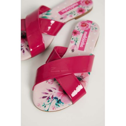 Chinelo-Rasteira-Infantil-Menina-Molekinha-Verniz-Pink