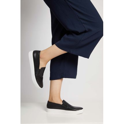 Tenis-Casual-Feminino-Slip-On-Via-Uno-Preto