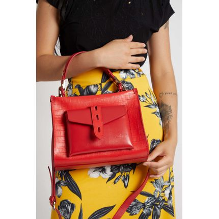 Bolsa-Transversal-Feminina-Areta-2638-Croco-Vermelho