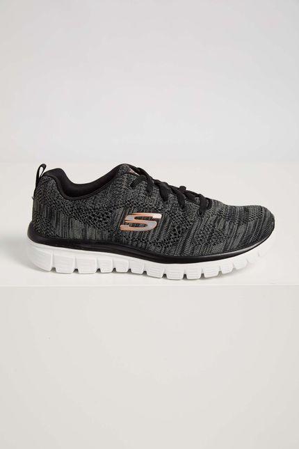 Tenis-Caminhada-Skechers-Graceful-2.0-Preto