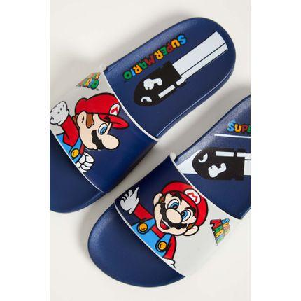 Chinelo-Slide-Super-Mario-Grendene-Cinza