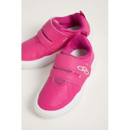 Tenis-Casual-Infantil-Menina-Olympikus-Enjoy-Pink