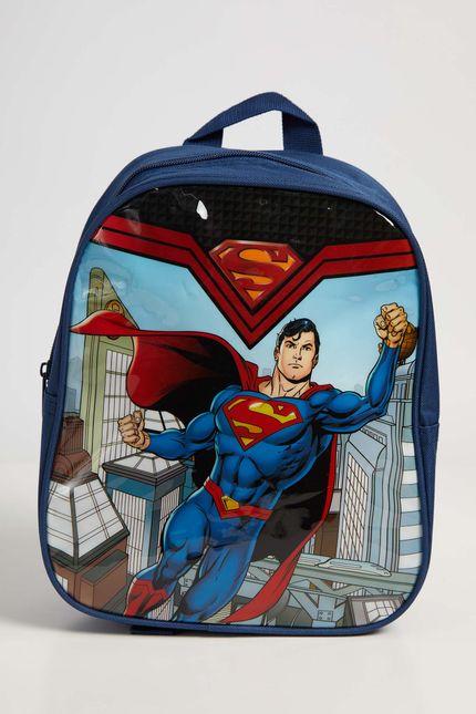 Mochila-Escolar-Infantil-Menino-Luxcel-Super-Homem-Azul