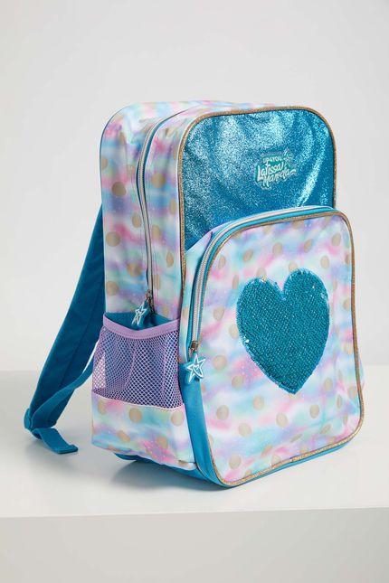 Mochila-Escolar-Menina-Larissa-Manoela-Luxcel-Azul