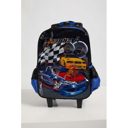 Mochila-Escolar-Infantil-Menino-Luxcel-Carros-Azul