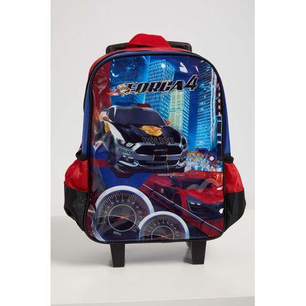 Mochila-Escolar-Infantil-Menino-Luxcel-Carros-Vermelho
