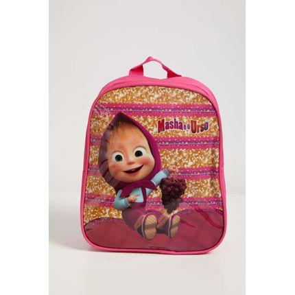 Mochila-Escolar-Infantil-Menina-Luxcel-Masha-E-O-Urso-Pink