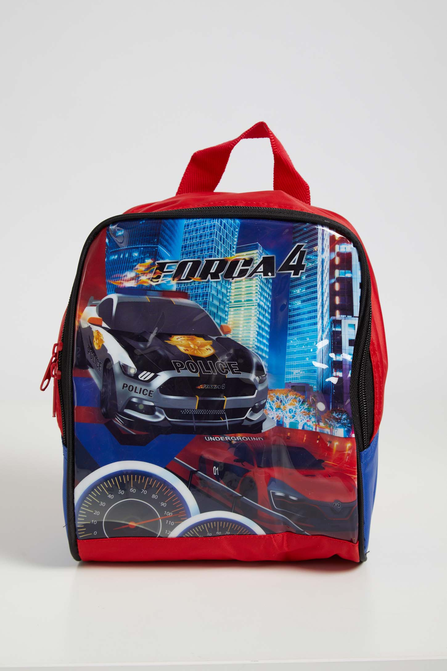 Lancheira-Escolar-Infantil-Menino-Luxcel-Carros-Vermelho