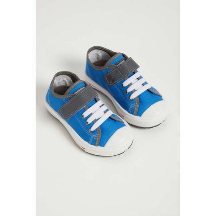 Tenis-Infantil-Menino-Klin-Replay-Velcro-Azul