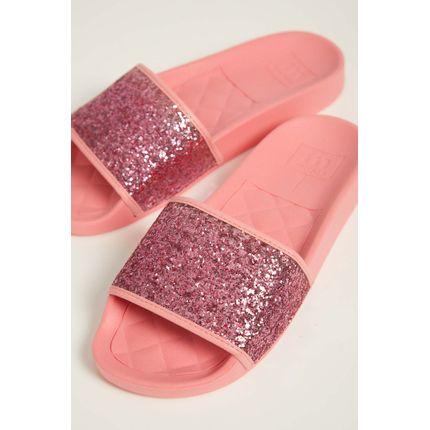 Chinelo-Slide-Feminino-Moleca-5414-Glitter-Salmao