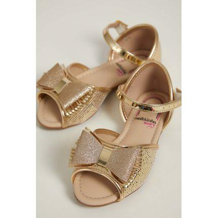 Sandalia-Rasteira-Infantil-Menina-Molekinha-Glitter-Ouro