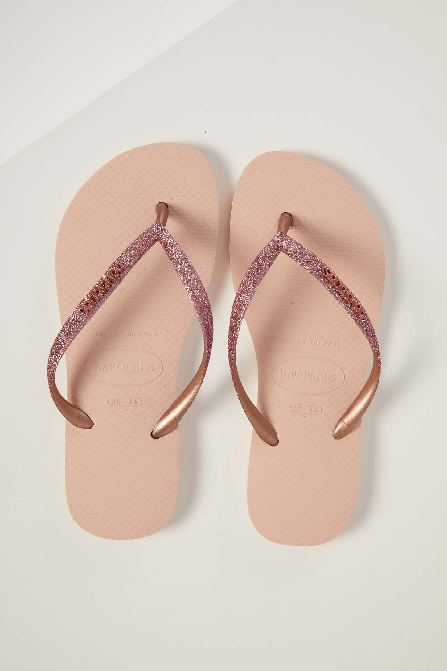 Chinelo-De-Dedo-Feminino-Havaianas-Slim-Glitter-Rosa